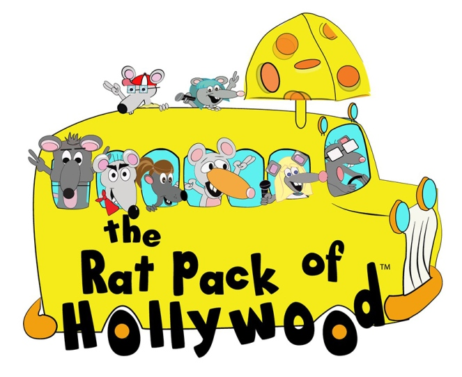 New Rat Pack Yellow Bus Logo - With Rats (1)