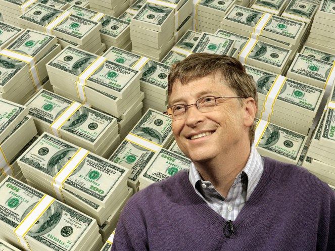 Bill Gates is the most generous man on the planet.