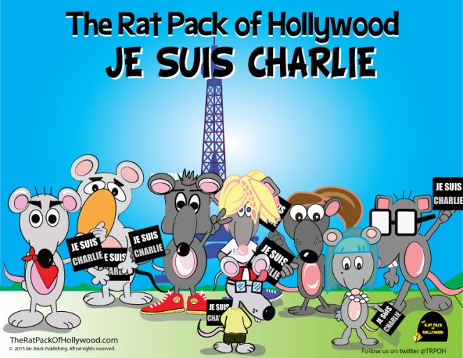 The Rat Pack of Hollywood are saddened by what has happened in Paris