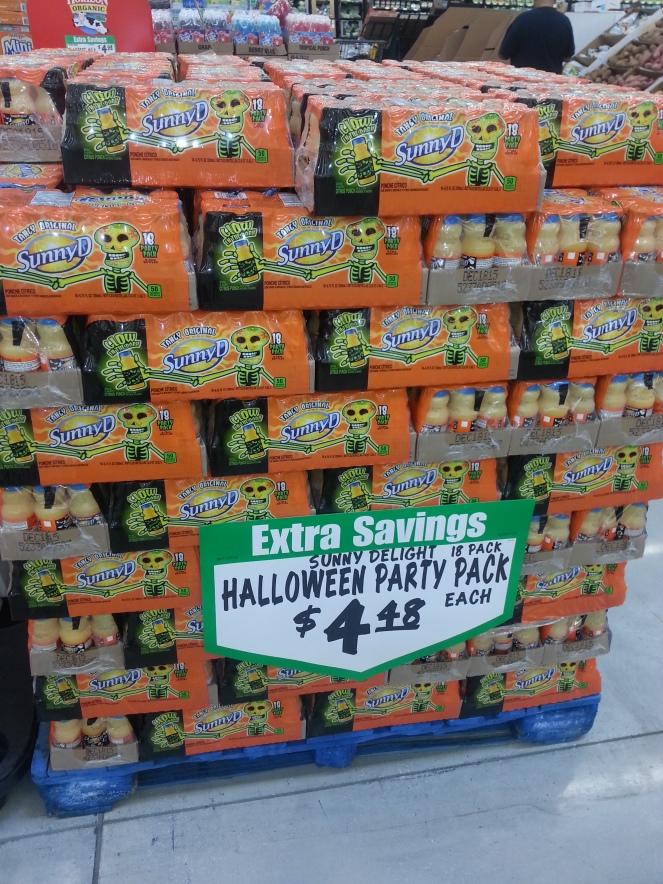 Trick or Treat orange Juice