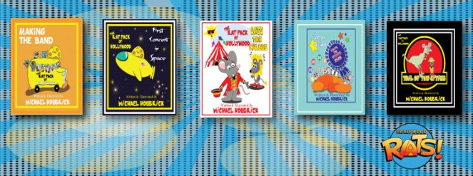 Five-Hollywood-Rats-Books