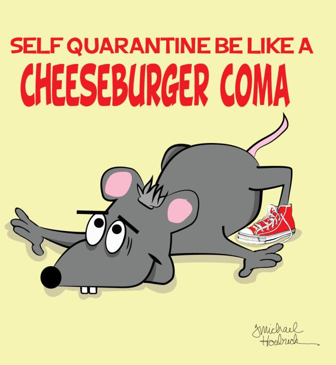 Cheeseburger-Coma